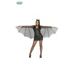 Heerseres Van De Nacht Vleermuis Vrouw Kostuum