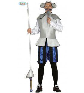 Don Quichote Ridder Man Kostuum
