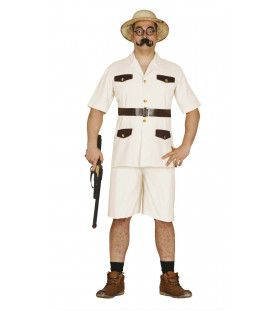 Jachtopziener Afrika Man Kostuum