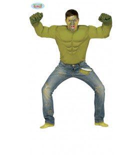 Nijdige Groene Spieren Man