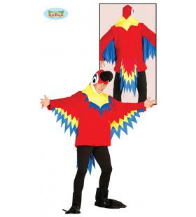 Kleurrijke Kaketoe Man Kostuum