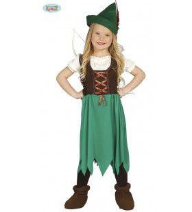 Robin Hood Sherwood Meisje Kostuum