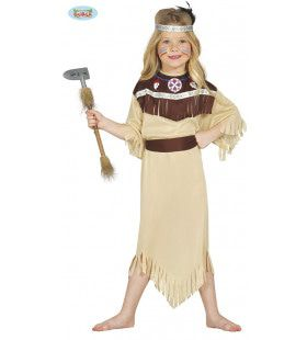 Kleine Donder Indiaan Meisje Kostuum
