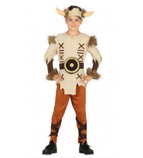 Leifur Eiriksson Viking Jongen Kostuum