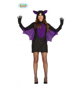Fladderende Vleermuis Vrouw Kostuum