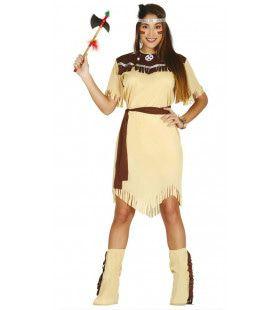 Tracey Tomahawk Indiaan Vrouw Kostuum