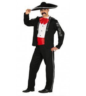 Carlos Canta Mariachi Man Kostuum