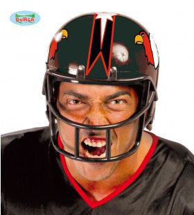 American Football Helm Bald Eagle Zwart