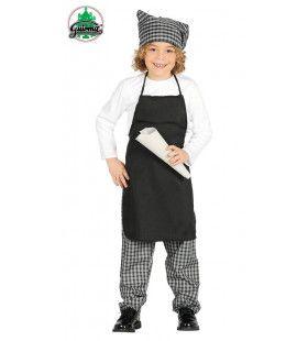 Kokkie De Kokshulp Kind Kostuum