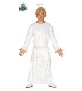 Witte Engel Habijt Man Kostuum