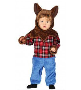 Roodkapje Is Niet Bang Voor Deze Wolf Jongen Kostuum
