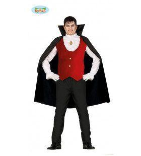 Graaf Gruwelijke Grijns Man Kostuum