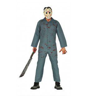 Losgeslagen Psychopaat Man Kostuum