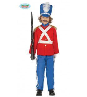 Speelgoed Soldaat Paleis Wachter Jongen Kostuum