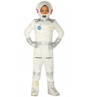 Op Reis Naar Mars Astronaut Kostuum