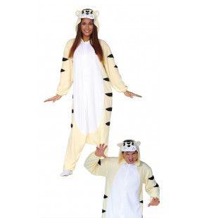 Soepel Bewegende Tijger Kat Kostuum
