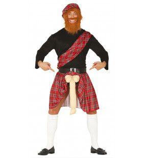 Wereldkampioen Paalwerpen Schotse Hoogland Spelen Man Kostuum