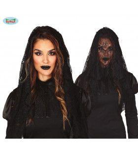 Zwarte Sluier Weduwe In De Rouw