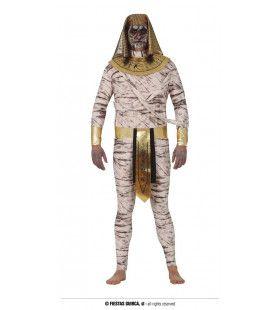 Te Lang Gelegen Mummie Man Kostuum