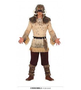 Bericht Uit De Geestenwereld Sjamaan Man Kostuum