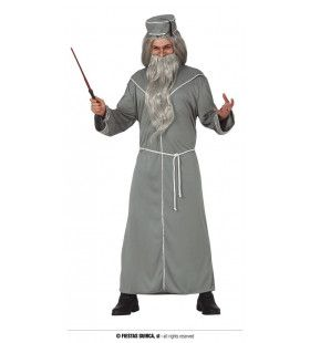 Meester Van Tovenaarsland Man Kostuum