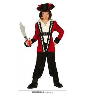 De Verschrikkelijke Koppenroller Piraat Jongen Kostuum