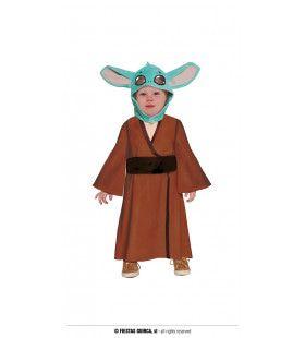 Baby Yoda Net Uit Het Ei Kind Kostuum