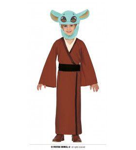 Child Baby Yoda Kind Kostuum