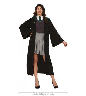 Student Van De Groene Heksenkring Vrouw Kostuum