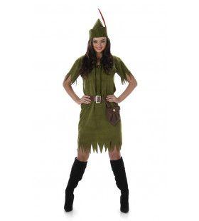 Neverland Peter Pan Vrouw Kostuum