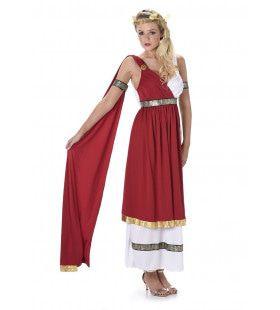 Romeinse Keizerin Fausta Vrouw Kostuum