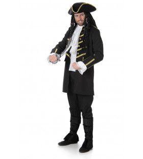Kaper Kaap Hoorn Kapitein Man Kostuum