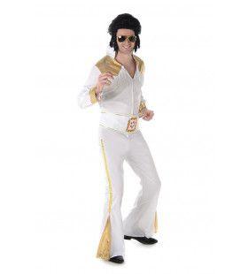 Rock And Roll Legende Elvis Man Kostuum