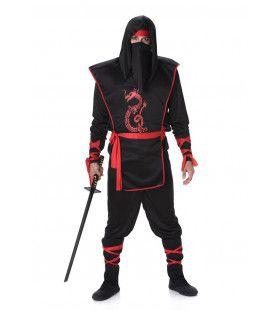 Ninja Alles Onder Controle Man Kostuum