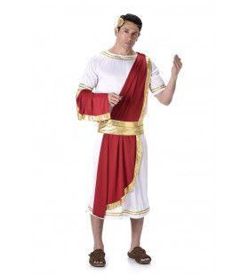 Romeinse Keizer Titus Flavius Vespasianus Man Kostuum