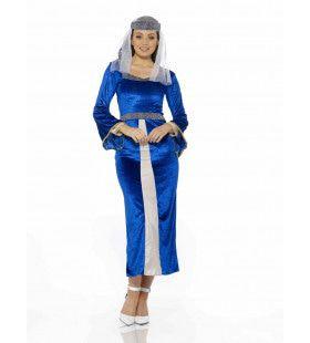 Lady Marian Liefje Van Robin Hood Vrouw Kostuum