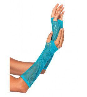 Visnet Vingerloze Handschoenen Blauw