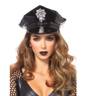 Glimmende Politiepet Vrouw