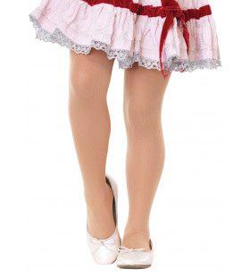 Meisjes Opaque Panty Huid