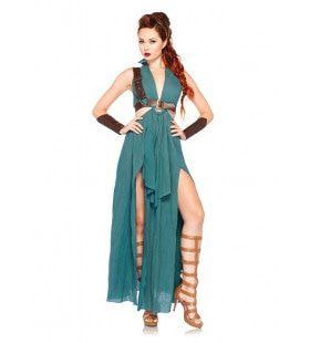 Romeinse Sexy Dames Strijder Vrouw Kostuum