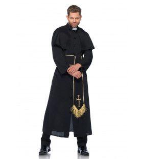 Chique Priester Gewaad Man Kostuum