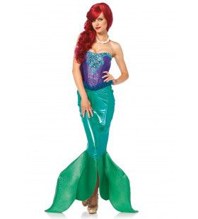 Sexy Zeemeermin Ms Cher Vrouw Kostuum
