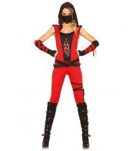 Killing Bill Sexy Dames Ninja Vrouw Kostuum