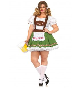Madchen Oktober Fest Jurk (Plus Size) Vrouw