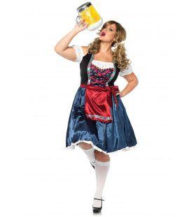 Bierfeest Oktoberfest Dirndl Jurk Maatje Meer Vrouw