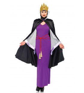 Donkere Koningin Moeder Vrouw Kostuum