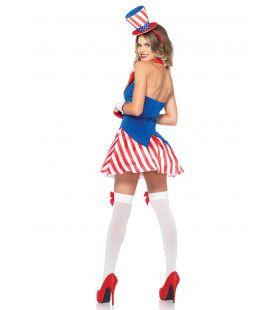 Amerikaans Schatje Vrouw Kostuum