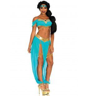 Zwoele Oase Prinses Vrouw Kostuum