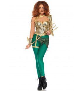 Neptuna Water Godin Vrouw Kostuum