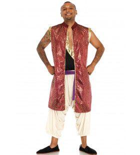 Arabische Prins Abdullah Man Kostuum
